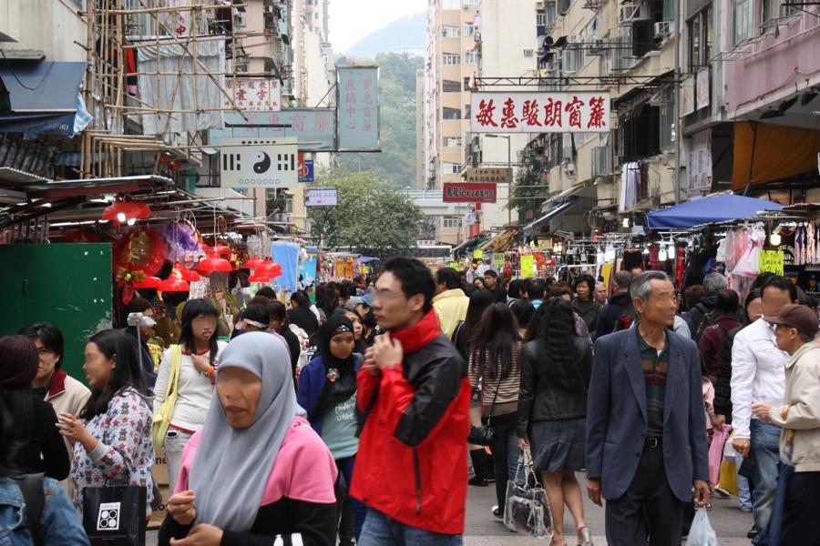Ladies Markt in Hong Kong