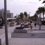 Strandpromenade bei Playa de las Americas auf Teneriffa