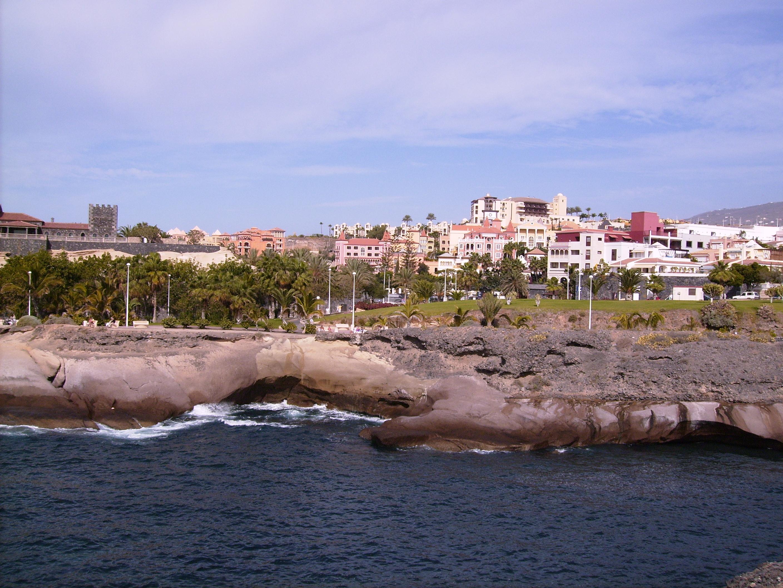 Bucht auf Teneriffa bei Playa de las Americas