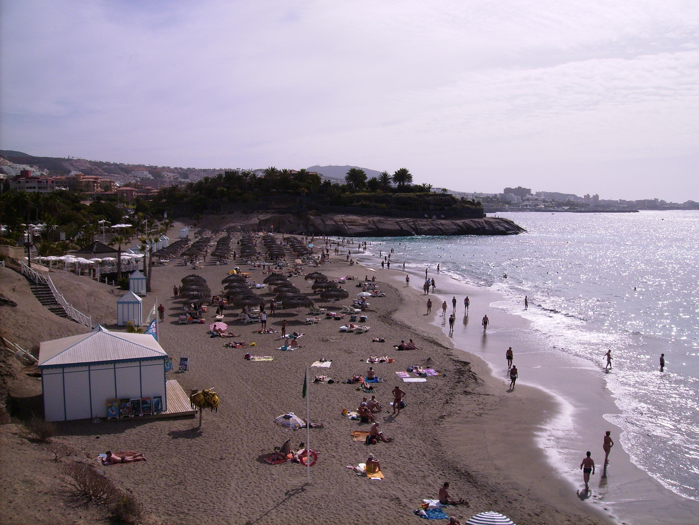 Strand auf Teneriffa bei Playa de las Americas