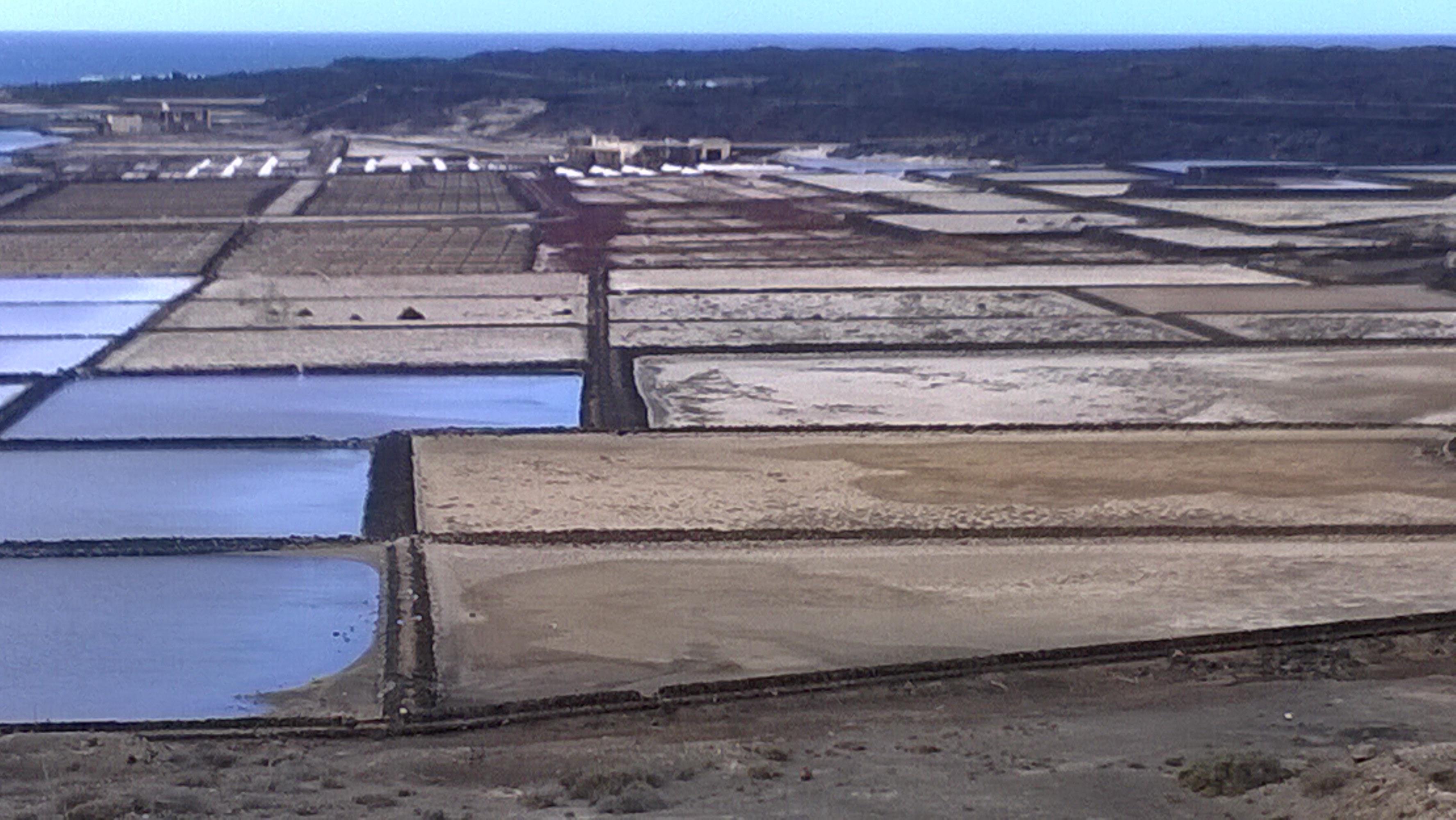 Salzgewinnungsanlage Salinas de Janubio