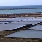 Becken der Salzgewinnungsanlage Salinas de Janubio
