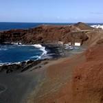 Küste bei El Golfo auf Lanzarote