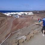 Wanderweg zum Kratersee El Golfo