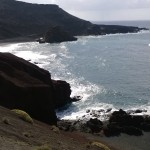 Küste von El Golfo (Lanzarote)