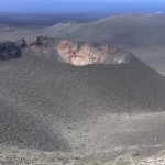 Vulkankrater auf Lanzarote