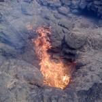Starke Hitze in den Feuerbergen