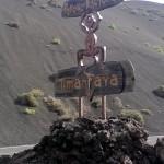 Wegweiser Timanfaya