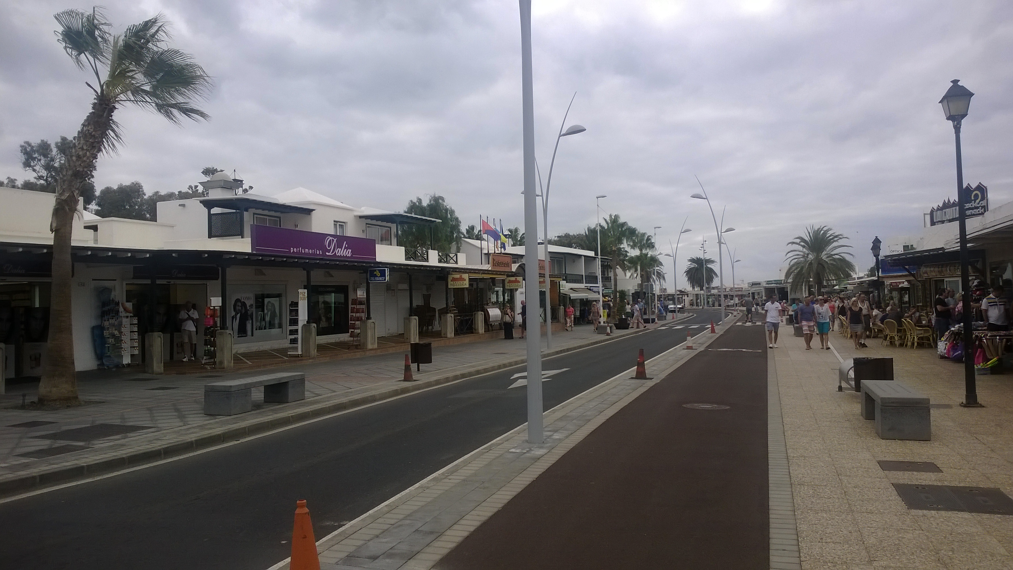 Strandpromenade in Puerto del Carmen