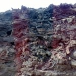 Erstarrte Lavamassen im Timanfaya Nationalpark