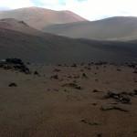 Lava und Sand im Timanfaya Nationalpark