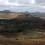 Krater im Timanfaya Nationalpark