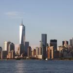 Blick auf Lower Manhattan