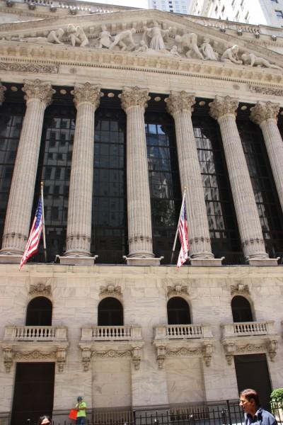 New York Stock Exchange in der Wall Street