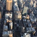 Straßenschluchten in New York vom Empire State Building