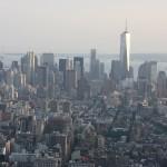 Blick vom Empire State Building auf New York