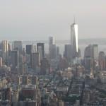 Südspitze Manahattans vom Empire State Building