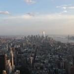 Südspitze Manhattan vom Empire State Building gesehen