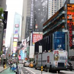 Broadway mit Blick in Richtung Times Square