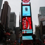 Werbung am Times Square