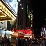 Seitenstraße am Times Square