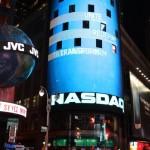 Nasday Ticker am Times Square