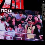 Selfies am Times Square per Videowand