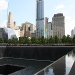 Mahnmal am Ground Zero in New York