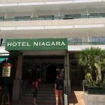 Eingang Hotel Niagara