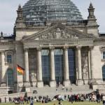Kuppel über Reichstagsgebäude