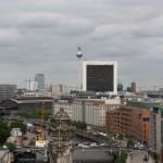 Blick über Berlin-Mitte von der Reichstagskuppel