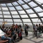 Aussichtsplattform in der Reichstagskuppel