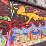 Bild der East Side Gallery in Berlin