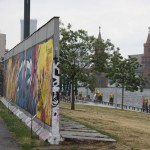East Side Gallery auf Höhe Ostbahnhof
