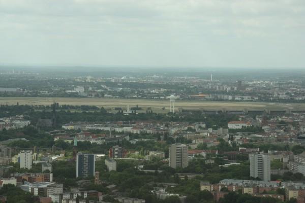 Berlin Tempelhof vom Fernsehturm