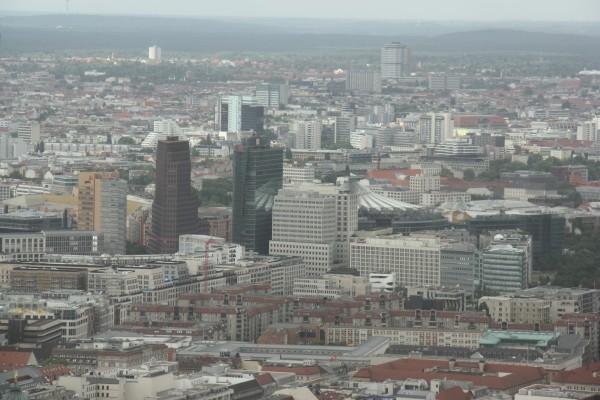 Blick auf Berlin-Mitte vom Fernsehturm