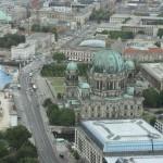 Berliner Dom vom Fernsehturm