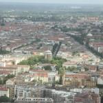 Berlin von oben vom Fernsehturm gesehen