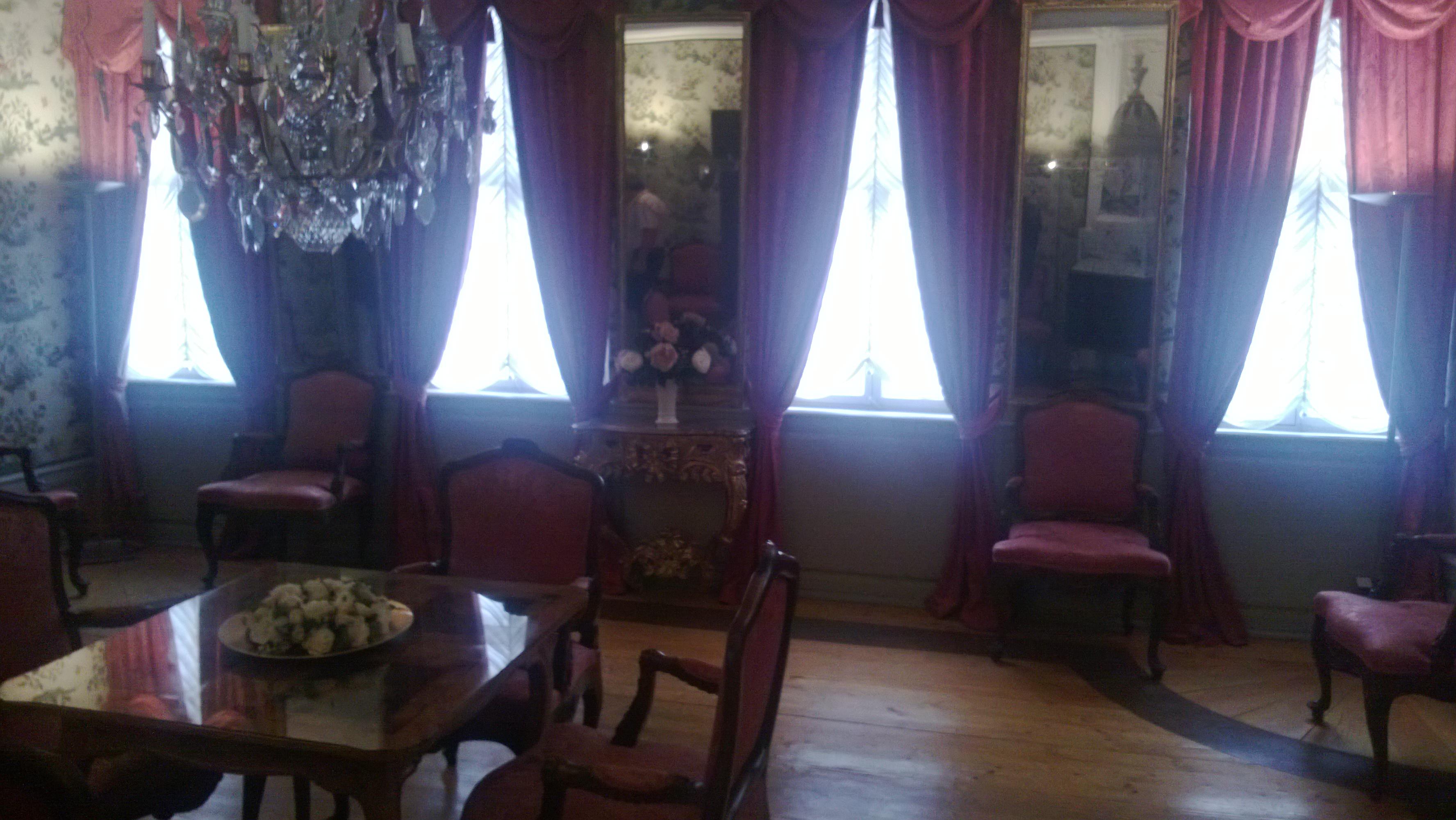 Saal im Goethe-Haus