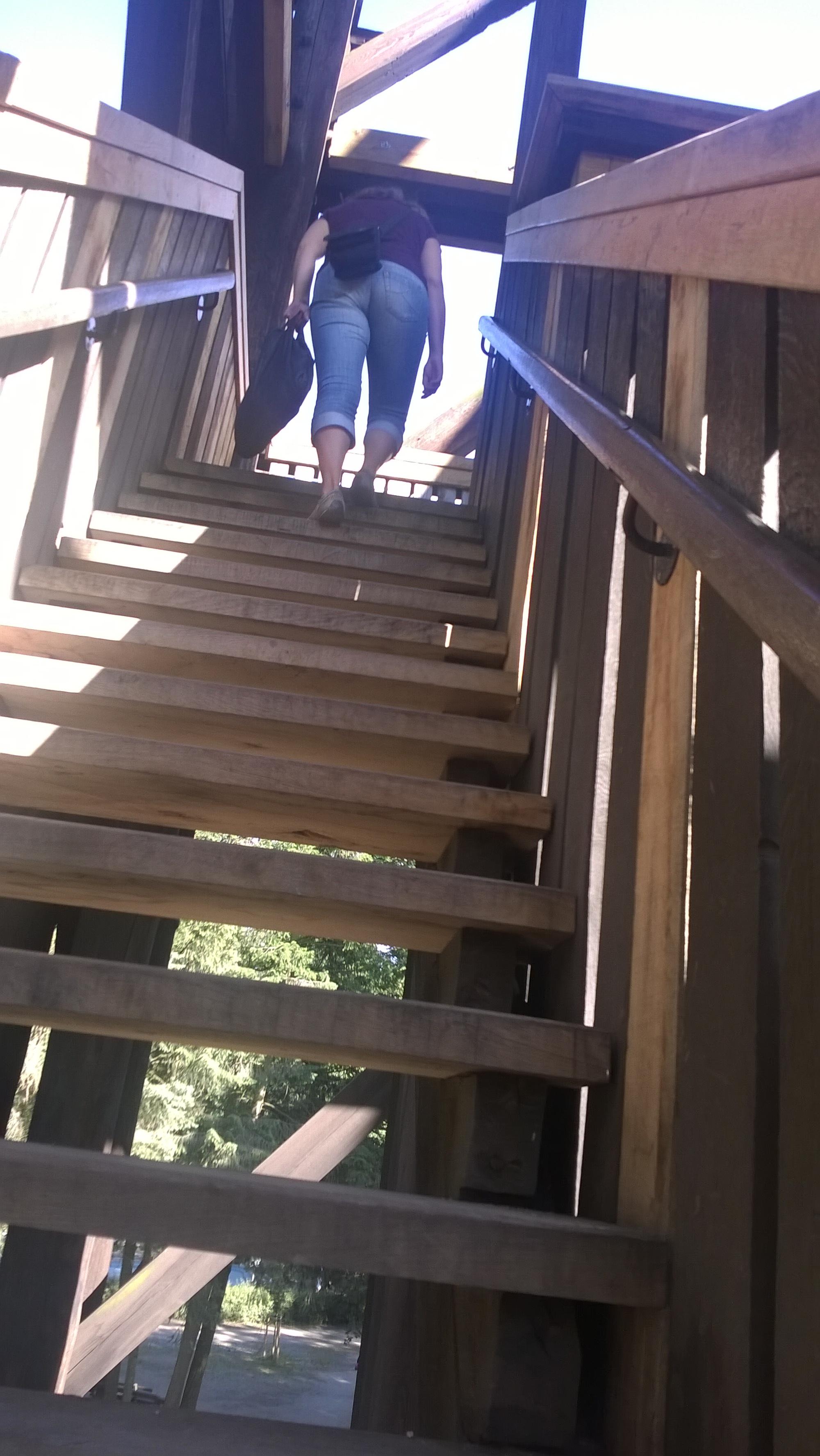 Treppen des Frankfurter Goetheturms