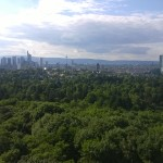 Frankfurter Goetheturm im Stadtwald