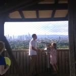 Aussichtsetage im Frankfurter Goetheturm