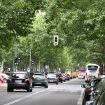 Straße des Kursfürstendamms in Berlin City West