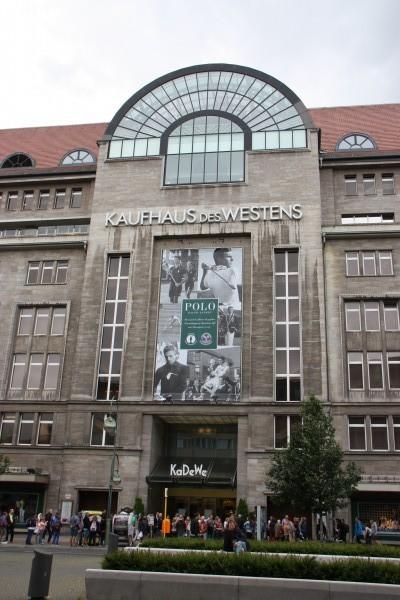 KaDeWe - größtes Kaufhaus Kontinentaleuropas
