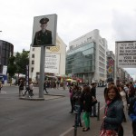 Checkpoint Charlie in Blickrichtung Norden