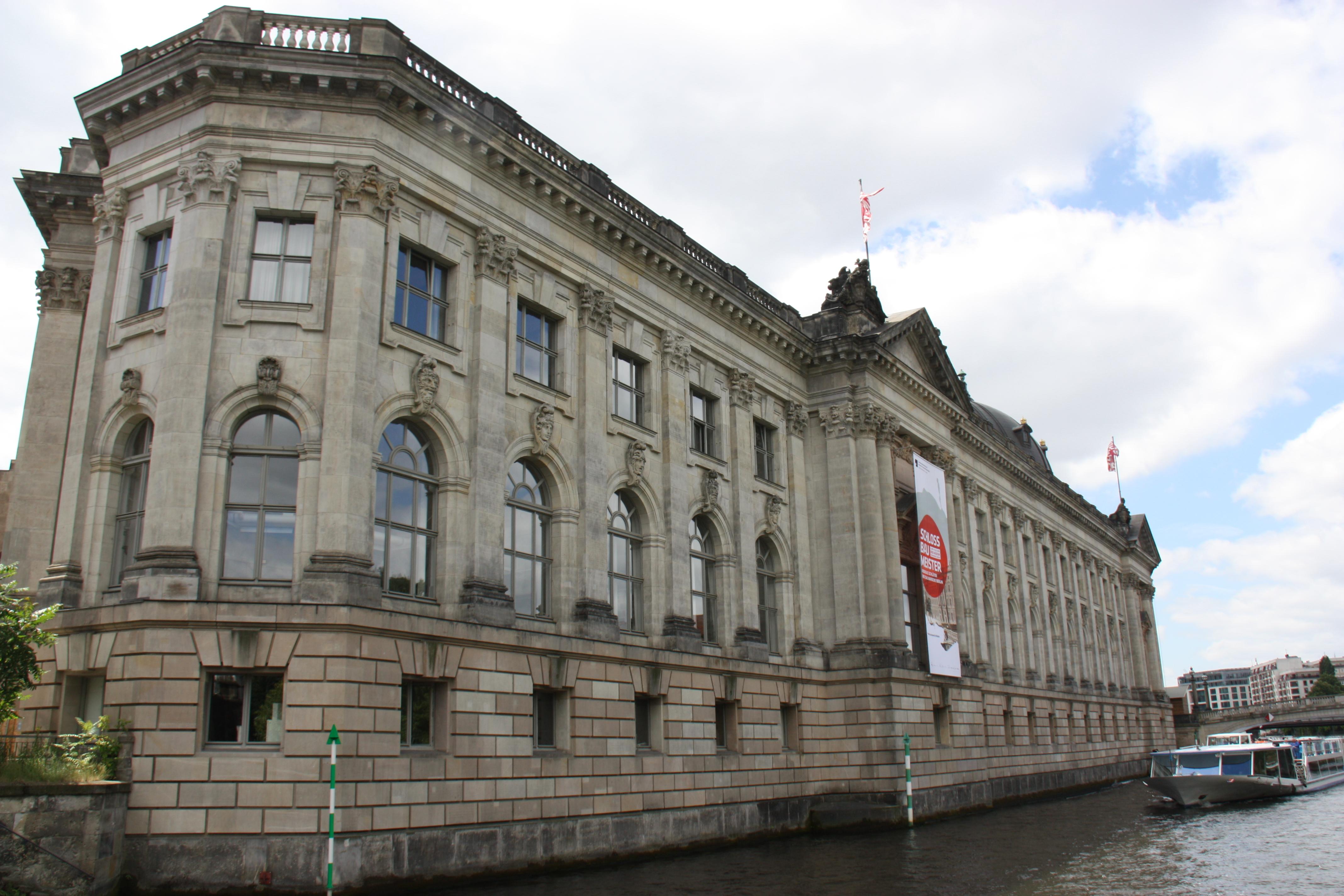 Museumsinsel in Berlin von der Spree aus