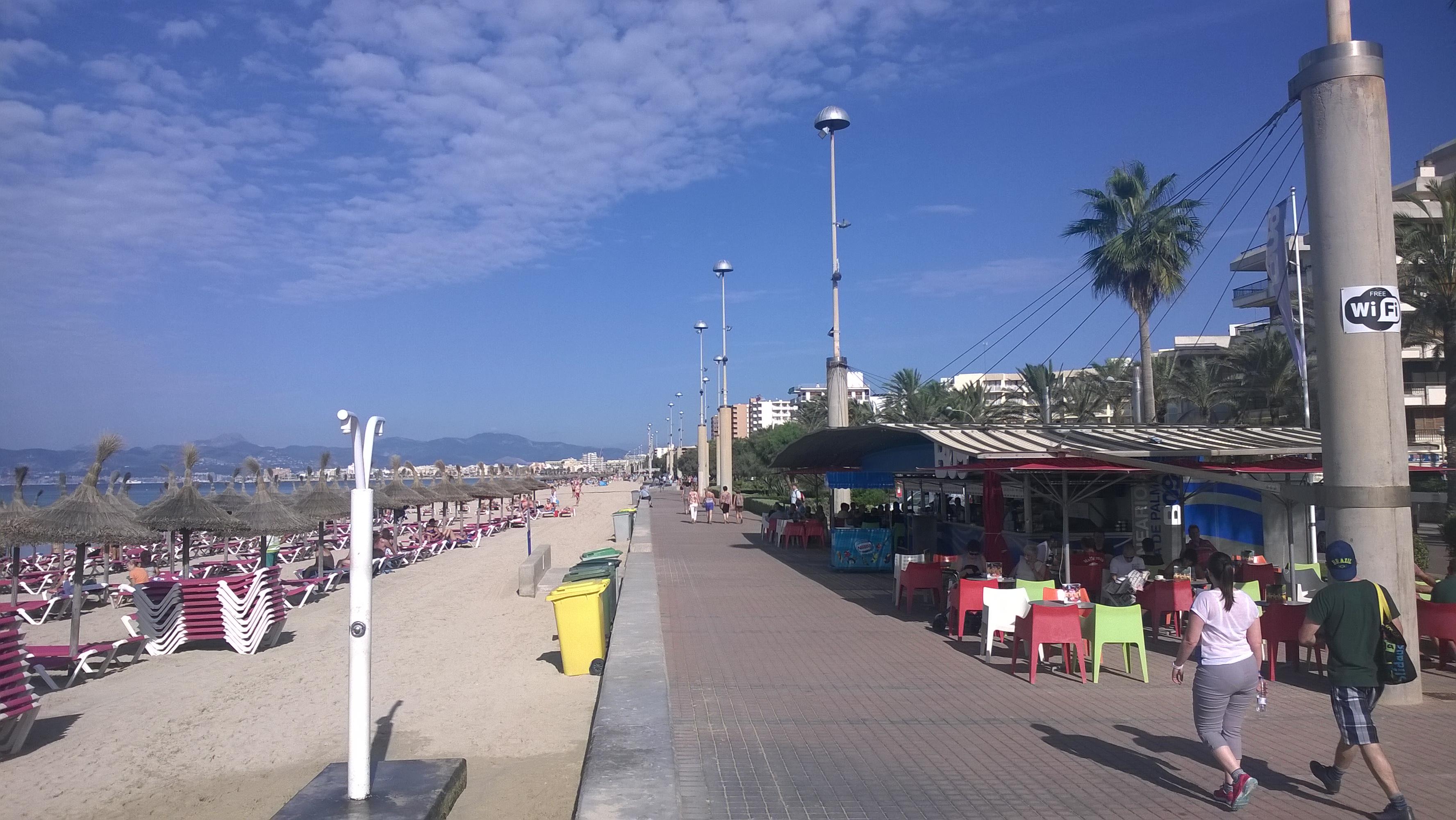 Strandpromenade am Ballermann