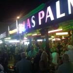 Party auf der Bierstrasse am Ballermann