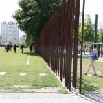 Symbolische Berliner Mauer