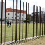 Markierung des Verlaufs der Berliner Mauer